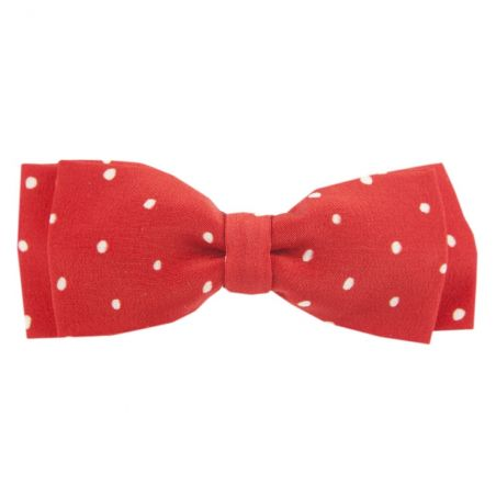 Pretty Woman big bow clip on red