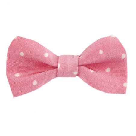 Pretty Woman bow clip on pink