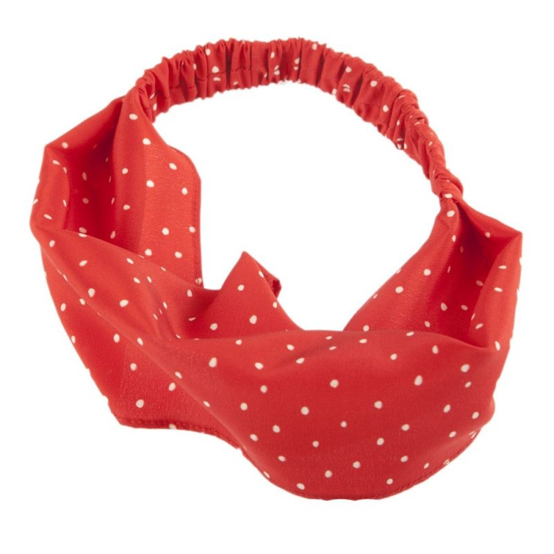 Summer headband Pretty Woman roşu
