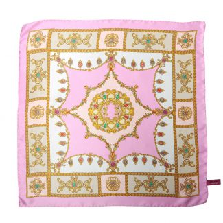 Jewellery Pale Pink silk scarf