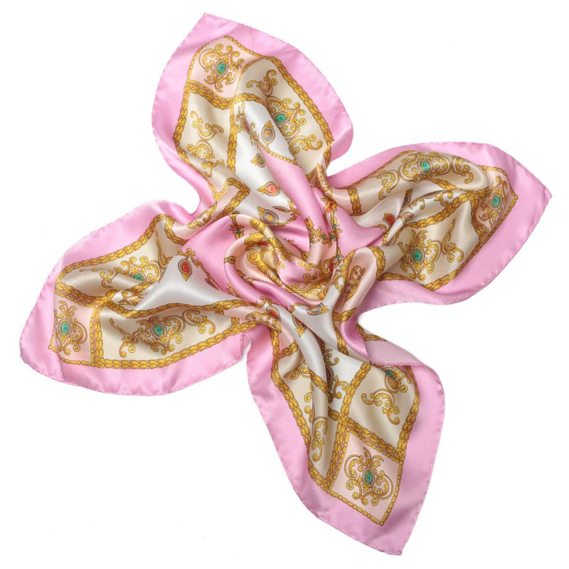 Esarfa matase Jewellery Pale Pink