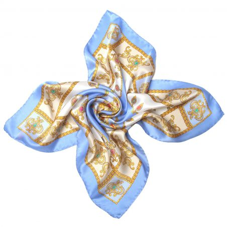 Jewellery Blue Sky silk scarf