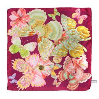 Emozioni Purple silk scarf