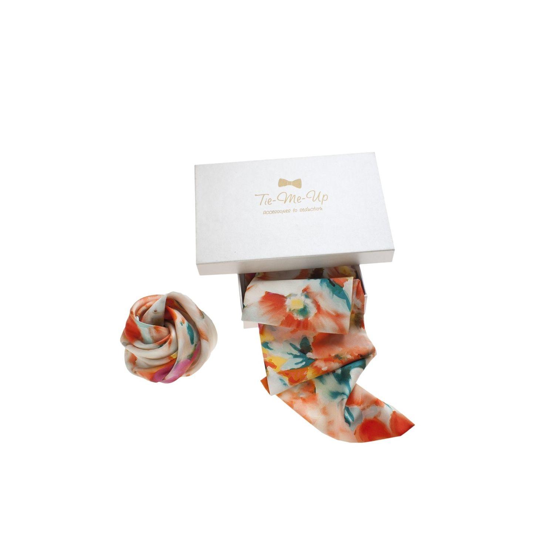 Aquarelle eşarfă & hair rose