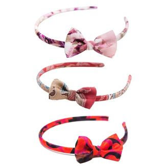 Headband: Moulin Rouge, Marsala Luxury and `70 Brigitte