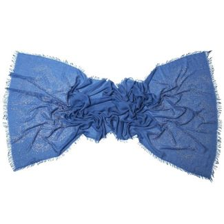 Sal cu strasuri fluturi albastru