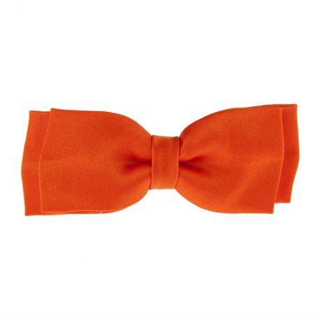 Mandarine big bow clip