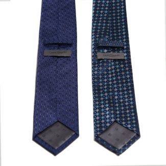 Laura Biagiotti tie blue saphirre Executive