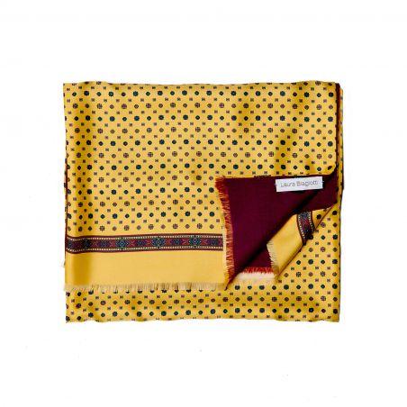 Men Scarf L. Biagiotti smart yellow design