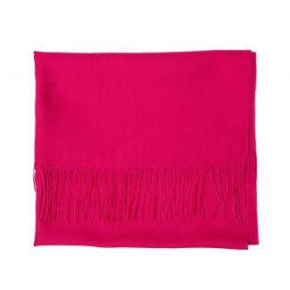 Wool scarf Mila Schon fuchsia