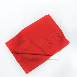 Esarfa lana Mila Schon orange