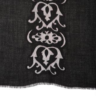 Esarfa eleganta lana Mila Schon Black