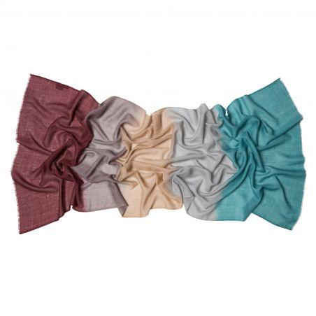 Cashmere scarf Mila Schon Mood Earth tones
