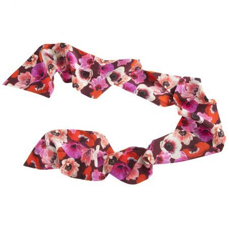 Eşarfă mătase naturală Mon Amour
