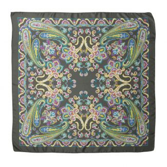 Endless Paisley Olive