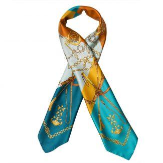 Lovely Touch Carmel  silk scarf