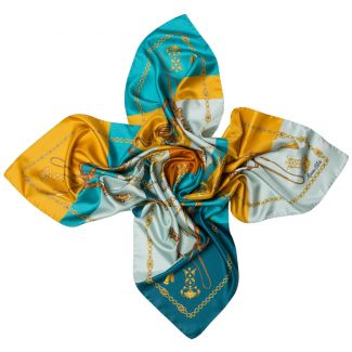 Lovely Touch Carmel  silk scarf