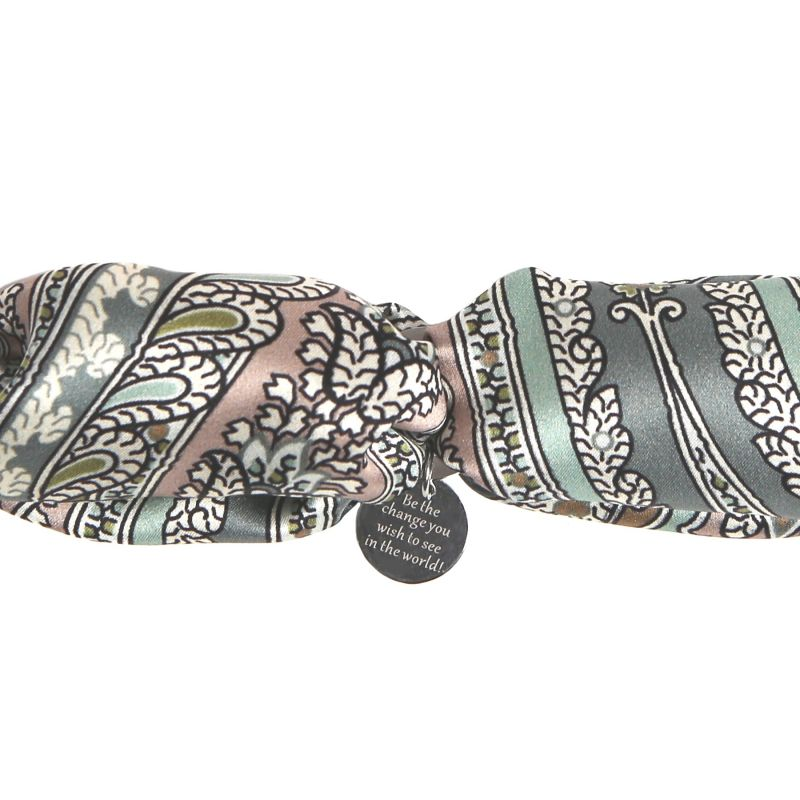 Silk bracelet My Privilege Olive