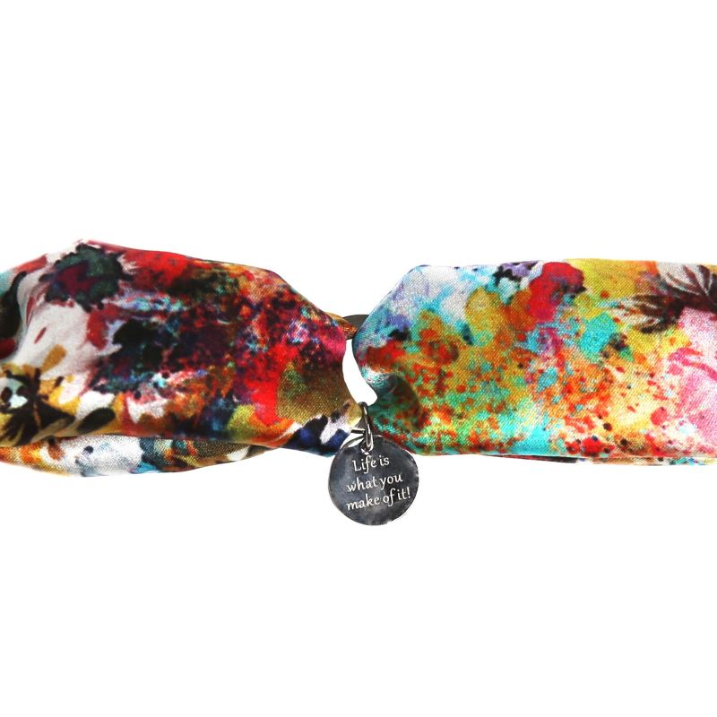 Silk bracelet Fleur de Provance