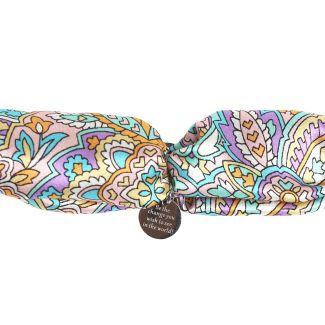 Silk bracelet Alhambra Turcoise