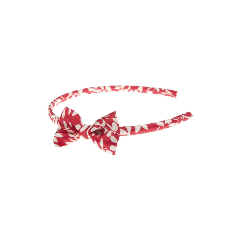 Headband cu fundiţă Red Rose