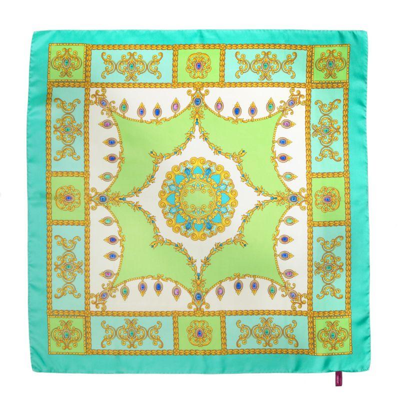 Jewelry Turcoise Silk scarf