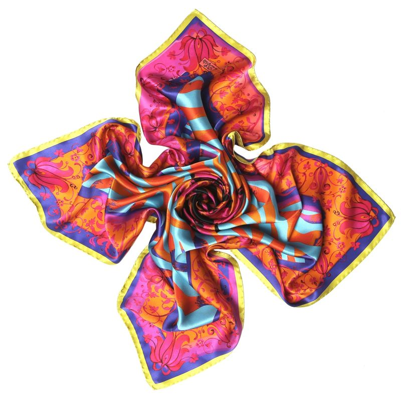 Gipsy Magic fucsia Silk scarf