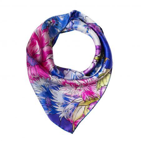 Exuberance lilac Silk scarf
