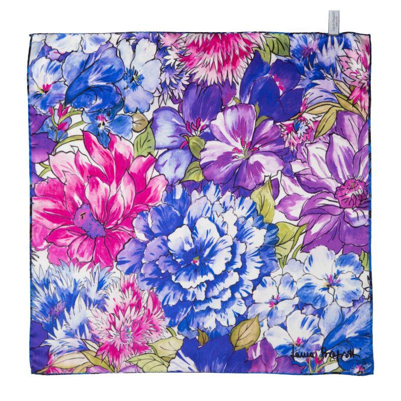 Exuberance lila Silk scarf