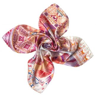Innocence pink Silk scarf