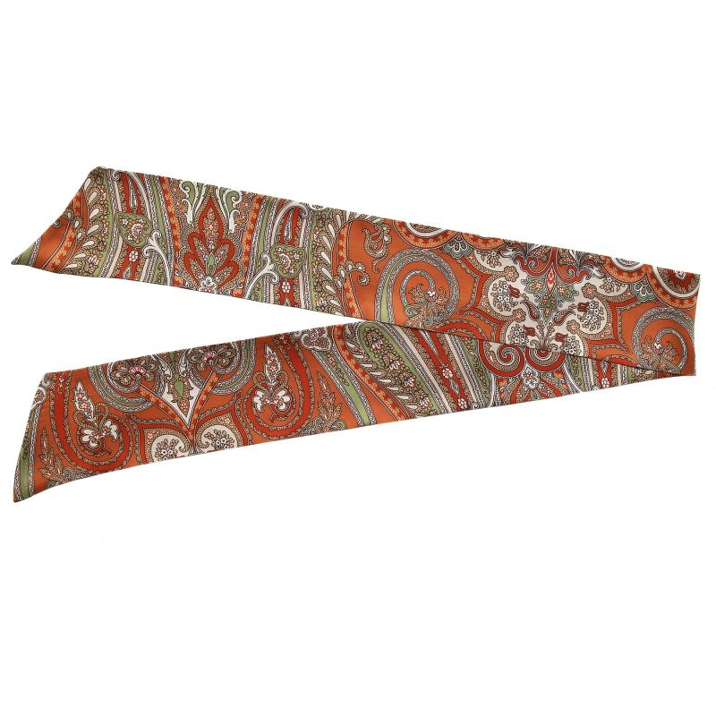 My Privilege Ginger silk scarf