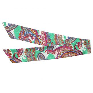 City Rainbow silk scarf