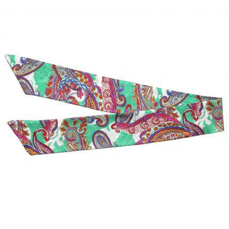 City Rainbow silk scarf