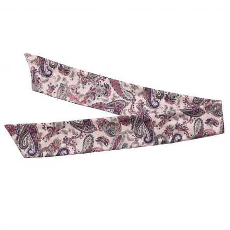 Colonial Rose silk scarf
