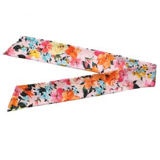 Moments Like This Pink silk scarf