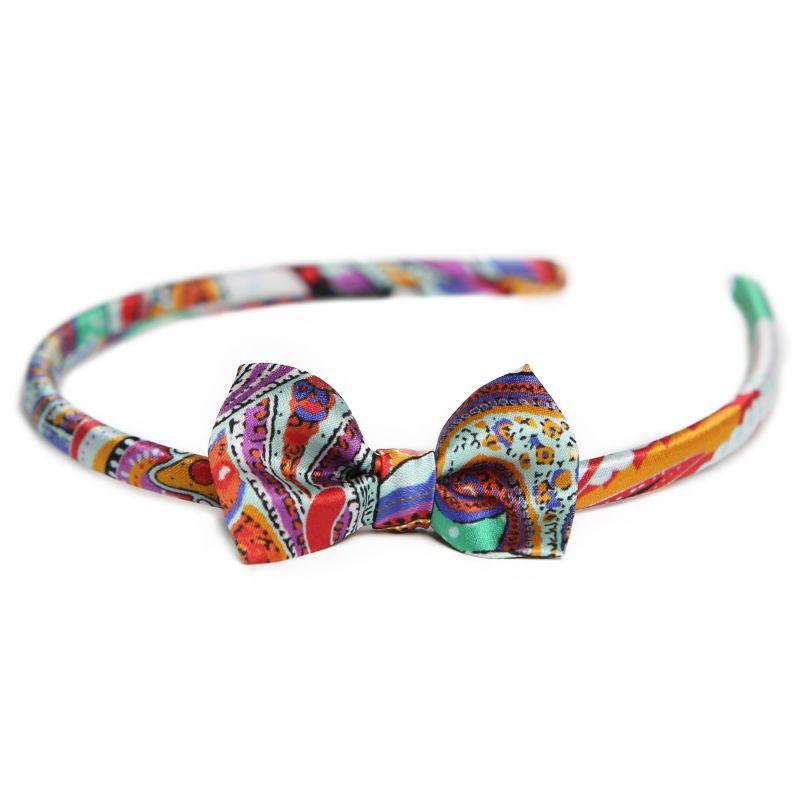 Headband cu fundita City Rainbow