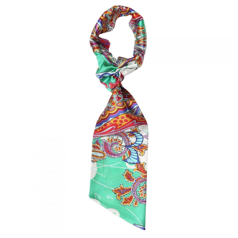 City Rainbow flounce scarf