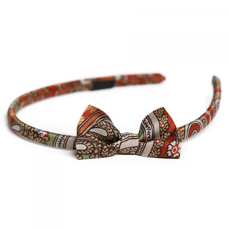 My Privilege Caramiziu silk headband