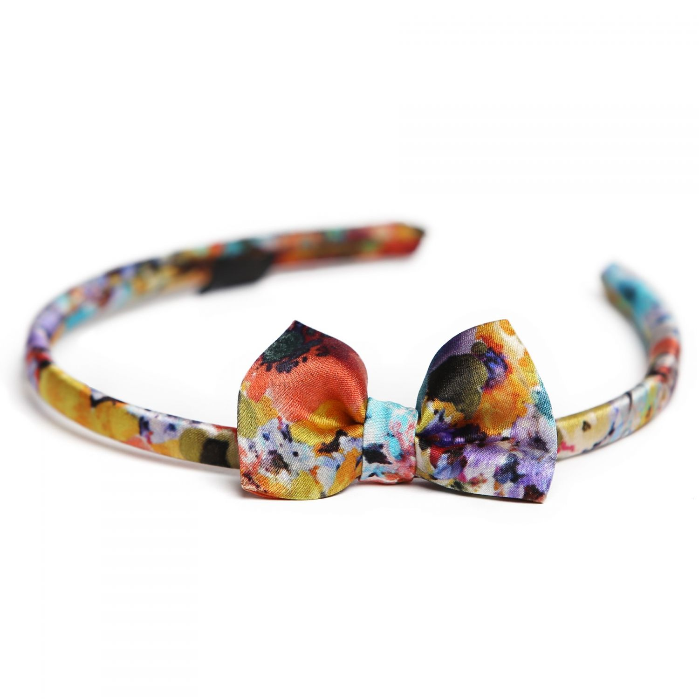 Fleur de Provance silk headband