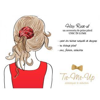 Hair Rose MC paisley marsala