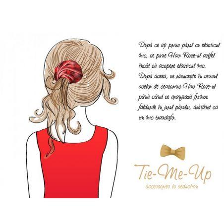 Hair rose magenta