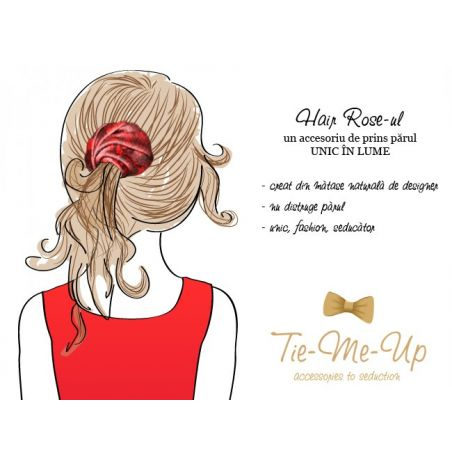 Alhambra Navy Hair Rose