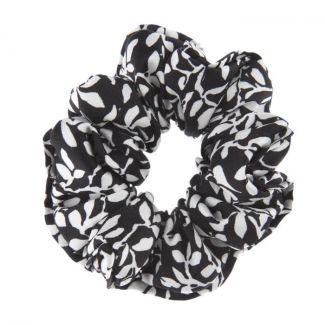 Hair Twist Valentino frunze fond negru