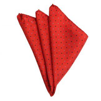 London Men Red Silk Pocket