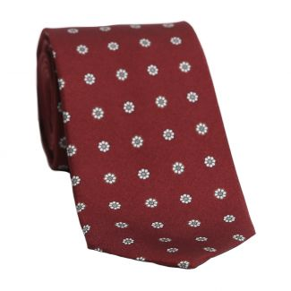 Cravata matase L. Biagiotti model pe bordo