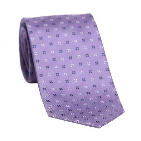 Cravata matase L. Biagiotti Venetto lila