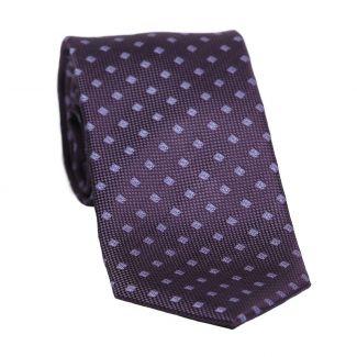 Cravata matase L. Biagiotti Siena blue mauve