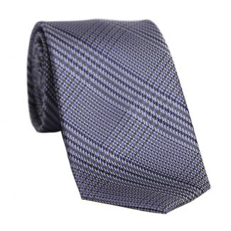 L. Biagiotti silk tie English Tea purple reflection