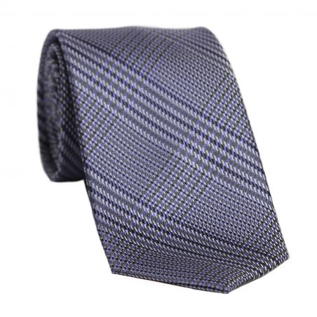 L. Biagiotti silk tie English Tea purple reflection