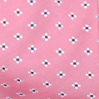 L. Biagiotti silk tie Amalfi very light raspberry